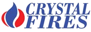 Crystal Fires Manhattan Whole in the wall gas fire by Crystal Fires