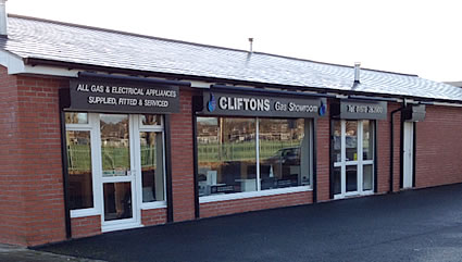 Cliftons of Wrexham Showroom
