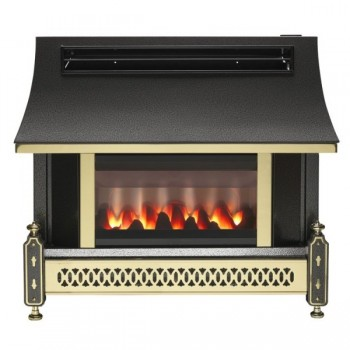 Robinson Willey Sahara LFE Electronic Outset Gas Fire
