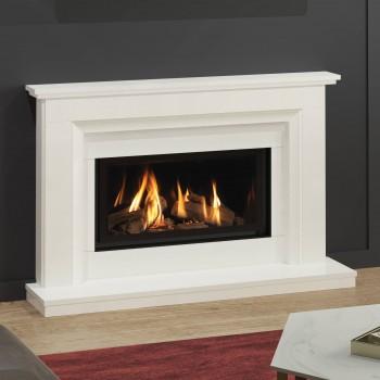 Elgin & Hall Adele 800CF Marble Gas Fireplace