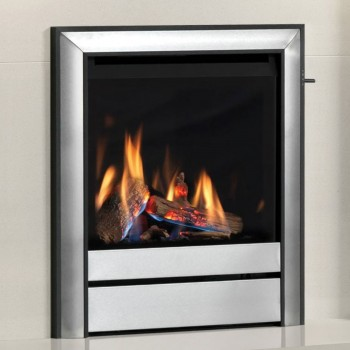 """Elgin & Hall 16"""" Chollerton Inset Gas Fire with Chollerton fascia"""