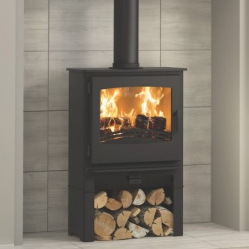 Evolution Desire 5 Widescreen Multifuel Stove With Log Store