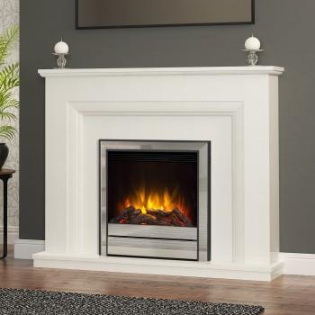 Elgin & Hall Amorina Marble Electric Fireplace