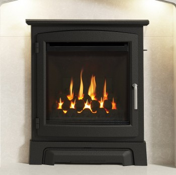"Elgin & Hall 16"" Cast Stove Front Inset Gas Fire"