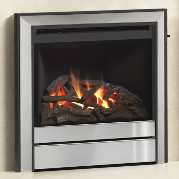"""Elgin & Hall 22"""" Chollerton Inset Gas Fire with Chollerton fascia"""