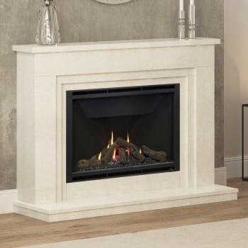 Elgin & Hall Wayland Marble Gas Fireplace