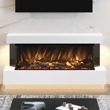 Elgin & Hall Pryzm Evento Timber Electric Fireplace