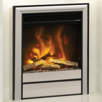 "Elgin & Hall Pryzm 16"" Electric Fire with Chollerton fascia"