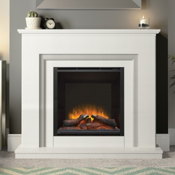 Elgin & Hall Embleton Marble Electric Fireplace