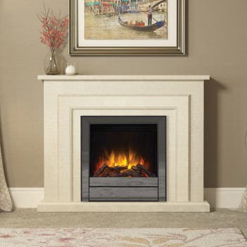 Elgin & Hall Farnham Marble Electric Fireplace