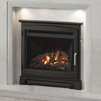 "Elgin & Hall 22"" Chollerton Cast Stove Front Inset Gas Fire"