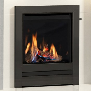 "Elgin & Hall 16"" Chollerton Inset Gas Fire with Edge fascia"