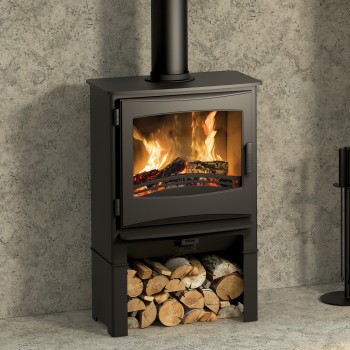 Evolution Ignite 5 Widescreen Multifuel Stove With Log Store