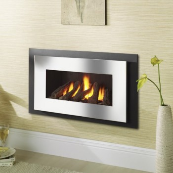 Crystal Fires Miami HE Hole In The Wall Gas Fire
