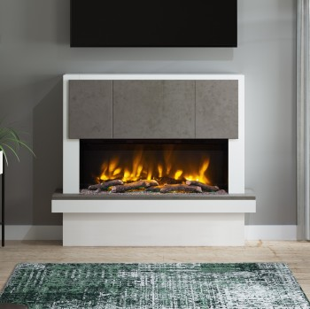 "Elgin & Hall Pryzm 53"" Caselli Electric Fireplace"
