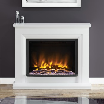 Elgin & Hall Pryzm Arana Timber Electric Fireplace