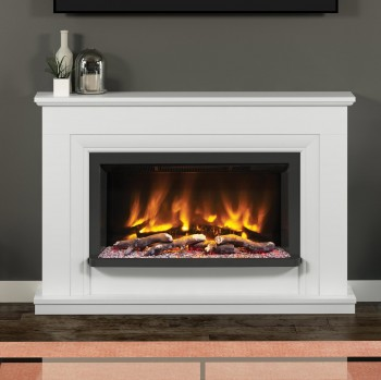 Elgin & Hall Pryzm Lavina Timber Electric Fireplace