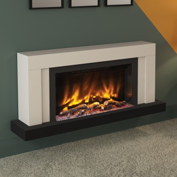 "Pryzm 53"" Vardo Wall Mounted Electric Fire"