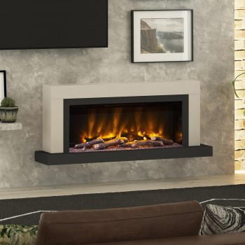 "Pryzm 57"" Vardo Wall Mounted Electric Fire"
