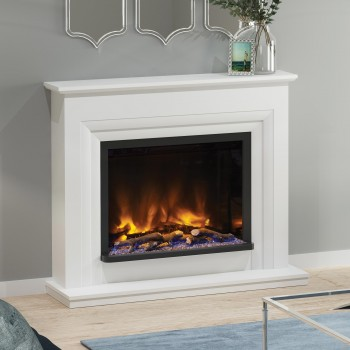 Elgin & Hall Pryzm Velino Timber Electric Fireplace