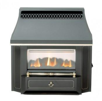 Valor Black Beauty LFE Outset Gas Fire