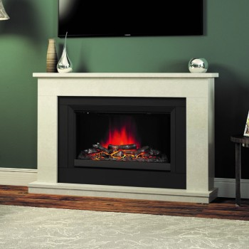Elgin & Hall Wellsford Marble Electric Fireplace