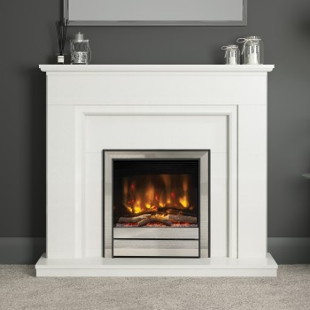 Elgin & Hall Willaston Marble Electric Fireplace