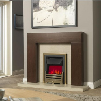 Valor Centre Dimension Bauhaus Slimline Electric Fire