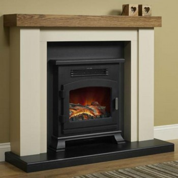 Elgin & Hall Bracken Electric fireplace.