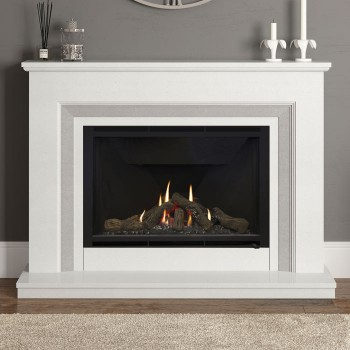 Elgin & Hall Cassius Marble Gas Fireplace