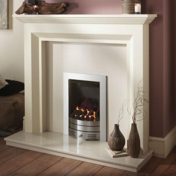 Crystal Fire Diamond Contemporay Inset Gas Fire