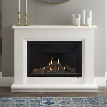 Elgin & Hall Earlston Marble Gas Fireplace