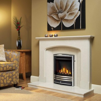 Be Modern Mid-Depth HE Gas fire with Cast Trims - 5 years guarantee