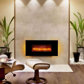 Elgin & Hall Indiana Wall Mounted electric fire