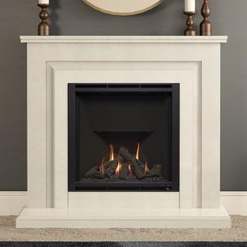 Elgin & Hall Mariella Marble Gas Fireplace