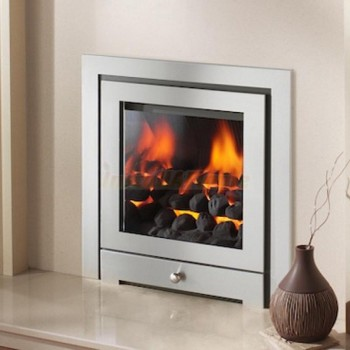 Crystal Fire Montana HE 3 Sided Inset Gas Fire