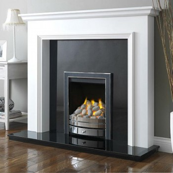 Wildfire The Montese Hearth Mounted Gas fire