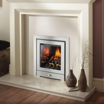 Crystal Fire Gem Royale 3 Sided Inset Gas Fire