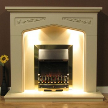 Stratford Timber Surround with Lights