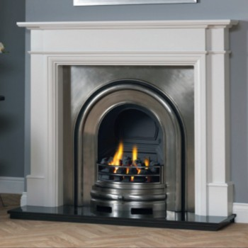 Victorian Cast Interior Gas Fireplace Package