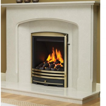 Be Modern Deepline Radiant Gas fire with Cast Trims - 5 years guarantee