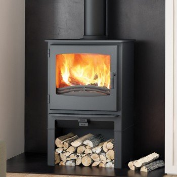 Evolution Desire 7 Multifuel Stove With Log Store