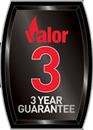 3 Year Valor Guarantee