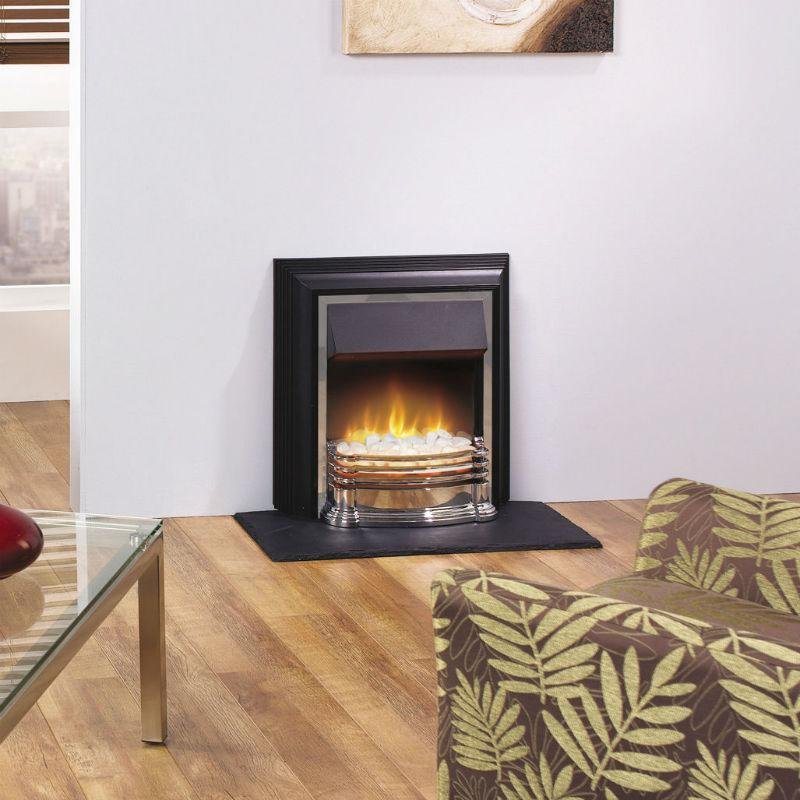 Contemporary Free Standing Electric Fires: Dimplex Detroit Free Standing Electric Fire