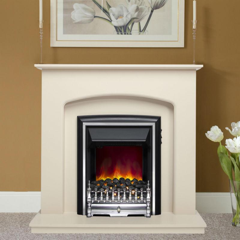be modern lusso eco electric fireplace