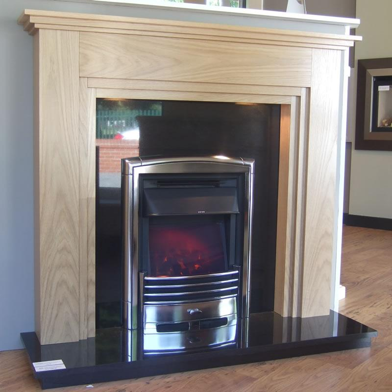 48 Inch Mayland Timber Surround Amp Fire