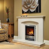 Be Modern Titanium Gas fire with Cast Trims - 5 years guarantee