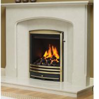 Be Modern Vortex Gas fire with Cast Trims - 5 years guarantee